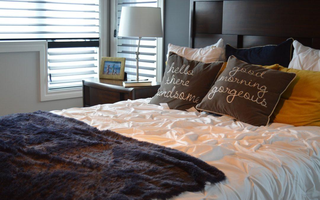 Chambre confortable et sommeil réparateur